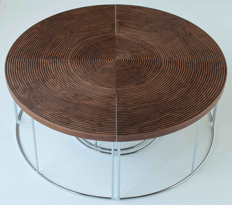 ripples_cossffee_table_ _walnut_ _chrome_base_1_