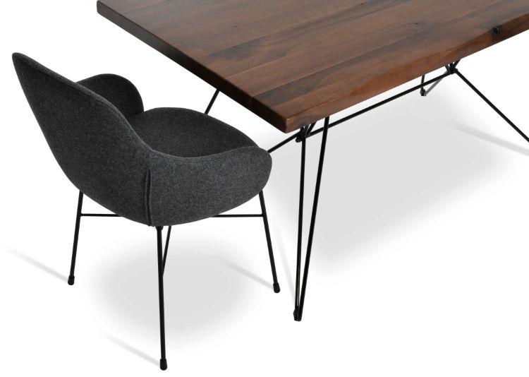 billiani_dininddg_table_ _solid_wood_original_walnut_ _solid_steel_black_frame_63_ _160cm_3_