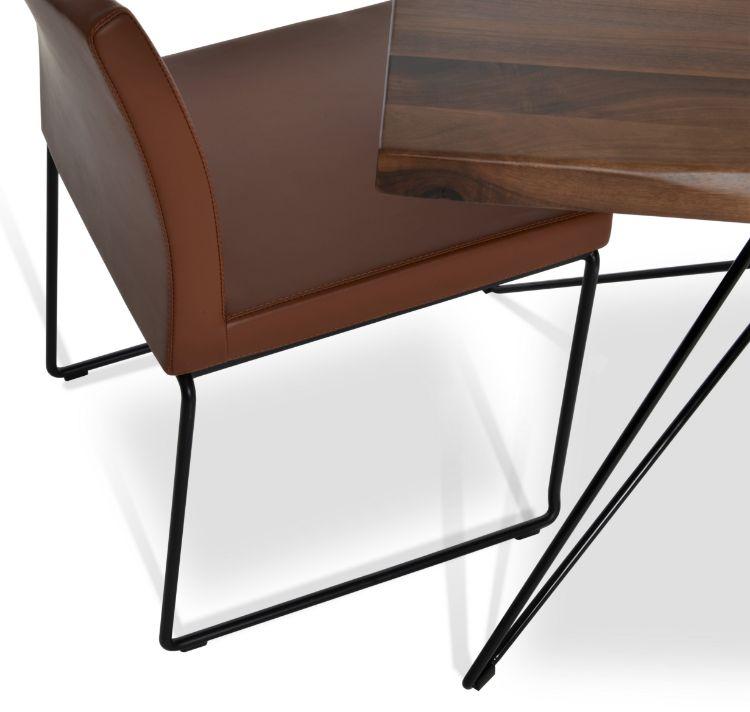 billiani_dining_tddable_ _solid_wood_original_walnut_ _solid_steel_black_frame_63_ _160cm_2_
