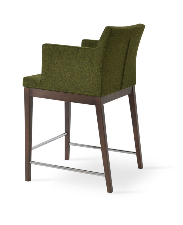 soho_wood_counter_ _forest_green_camira_wool_ downxxxx_1