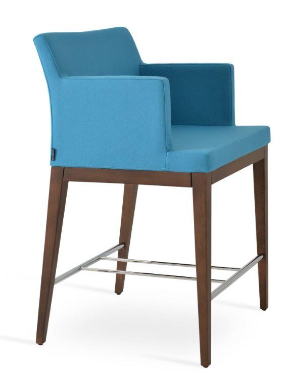 soho_countdder_armchair_ beech_wood_walnut_finish camira_wool_ _turquoise_aston_ _cuz02_