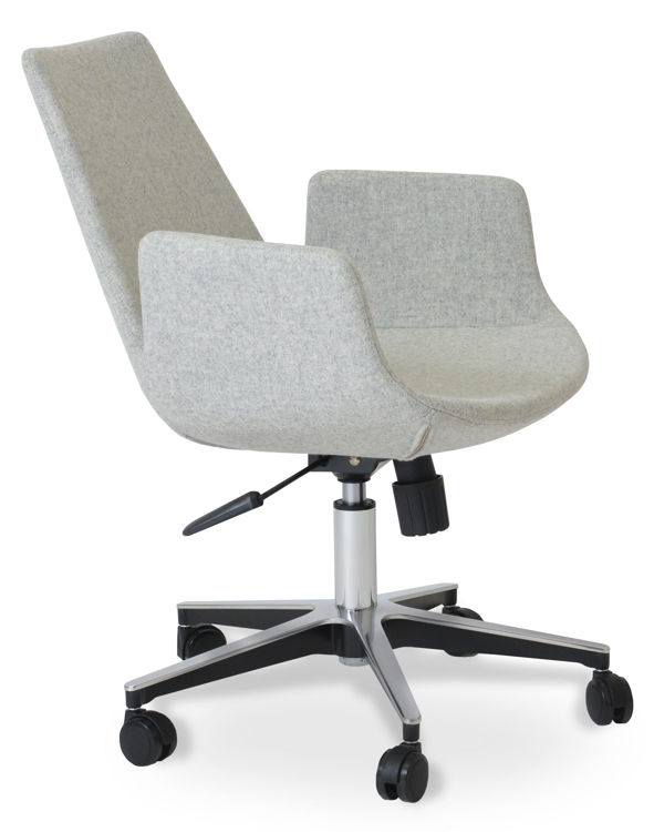 eiffel_arm _office_base_aluminium_24 _camira_wool_silver _3_