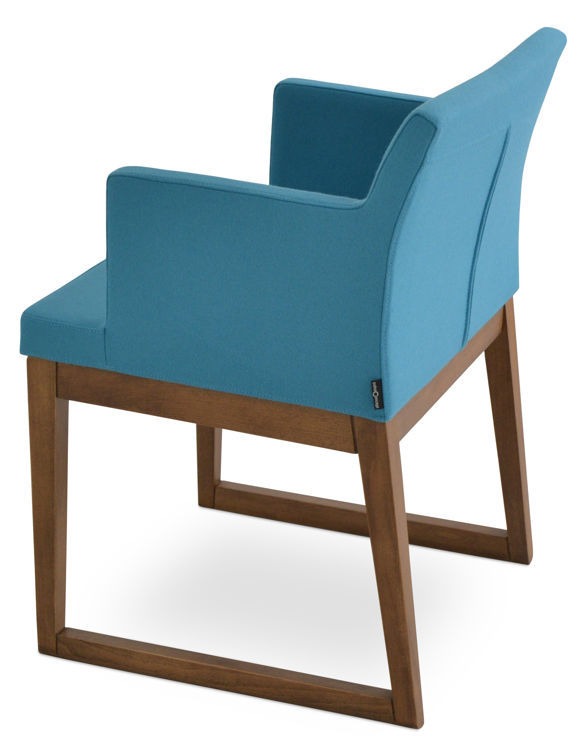 soho_wood_slide_ddarmchair _beech_wood_walnut_finish _camira_wool_ _turquoise_cuz02_2_