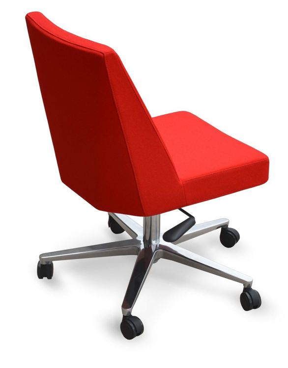 prisma_office aliminum_26 camira_red_wool downxx