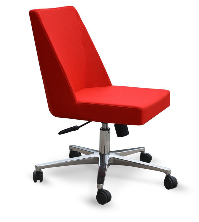 prisma_office aliminum_26 camira_red_wool _1_ down