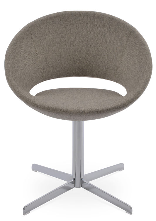 crescent_4_star_memddory_swivel_chrome _camira_wool beige_