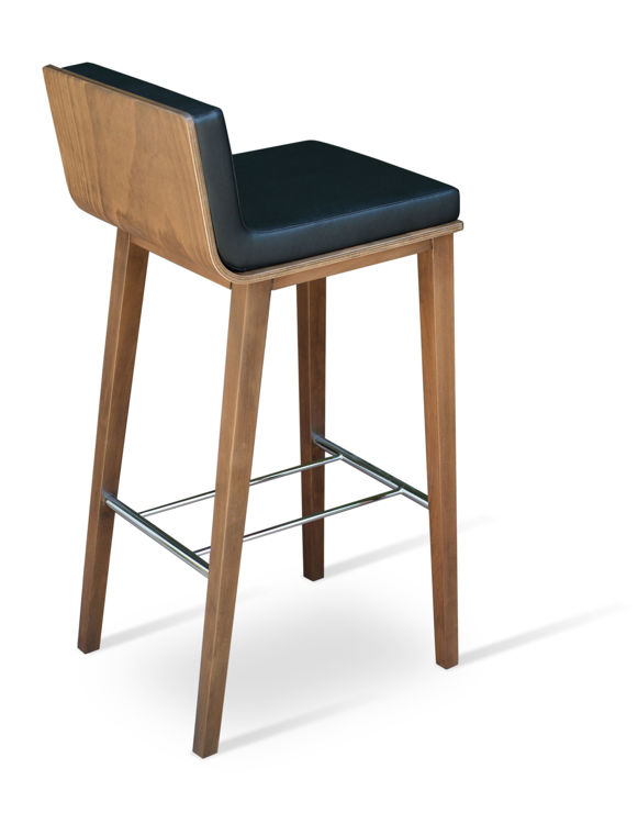 corona_bar_wood_dallas_seat black_leatherette _2_