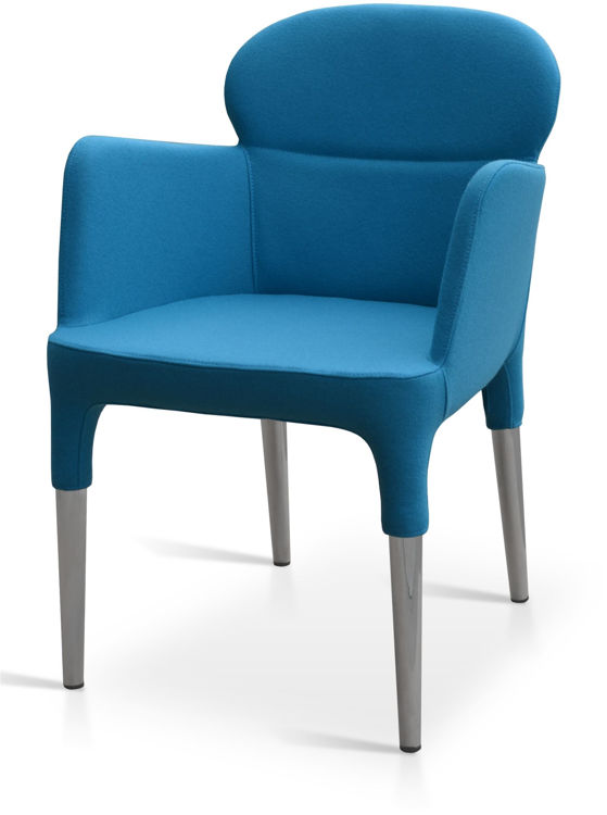 rosa_arm_chair _nickel_chrom _legs _camira_wool turquaz_1_ down