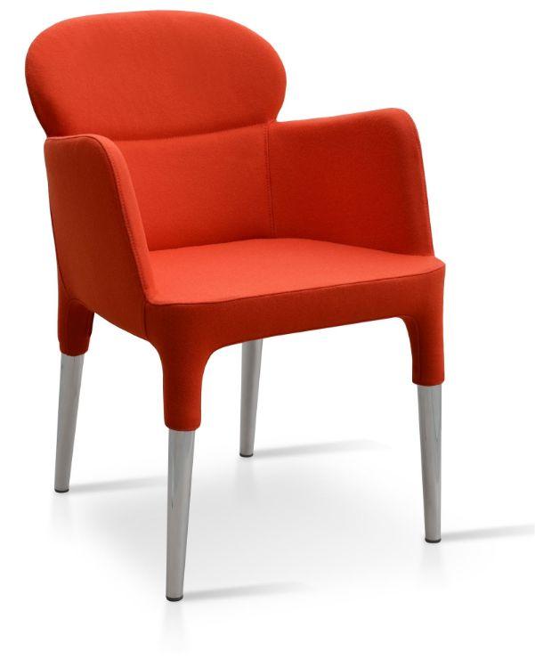 rosa_arm_chair _nickel_chrome_legs camira_wool_ _amber_1_ down