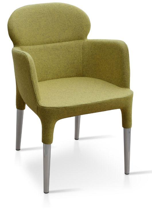 rosa_arm_chair nickel_chrome_legs _camira_wool_amber _kod _2_copy