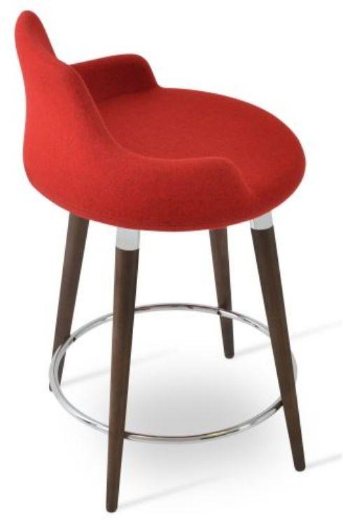 dervish_wood_counter stool _walnut _camira wool cuz 63 _1_ side