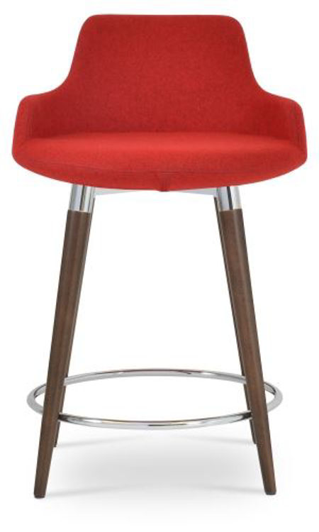 dervish_wood_counter stool _walnut _camira wool cuz 63 _3_ side