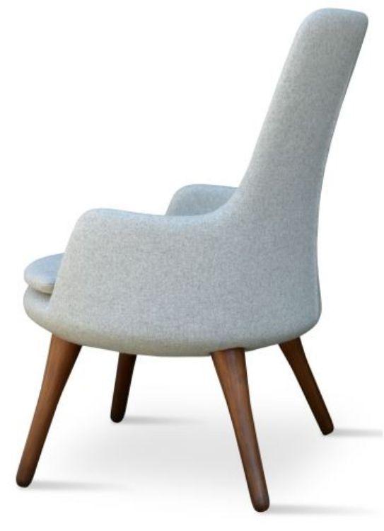 dervish_lounge_armchair high_back _camira_wool_silver _walnut_legs_tubafarkli_ayaklar_koyacagiz _star_base _round_base _3_ side