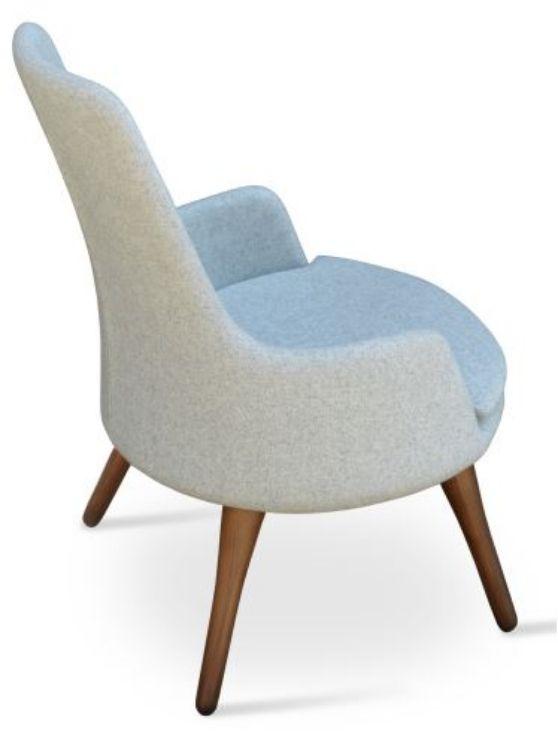 dervish_lounge_armchair high_back _camira_wool_silver _walnut_legs_8_ side