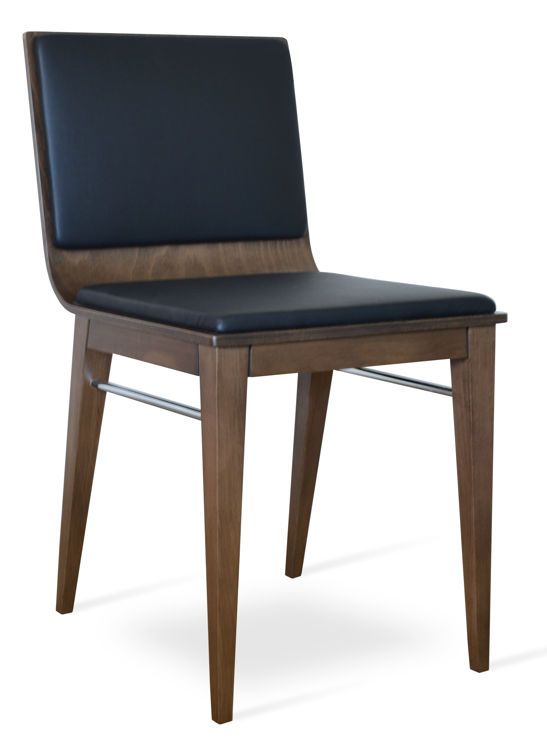 corona_dining_chair _ccvvv_seat_shell _base beech_wood_walnut_stain chrome_side_support _with_pad _f_1_1