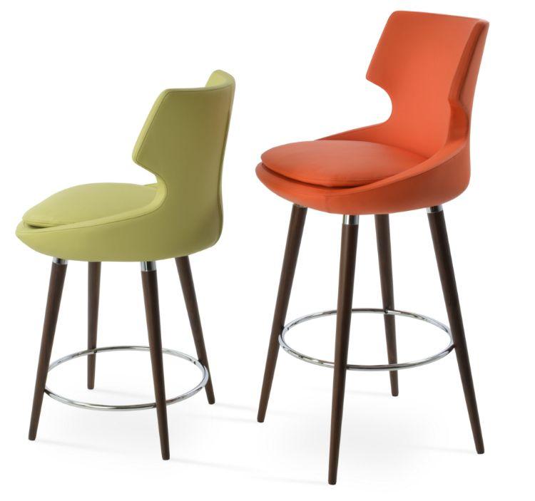patara_wooddd_stool _bar _counter_ppm_green orange_
