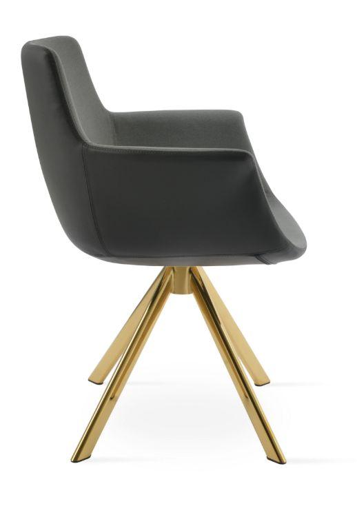 bottega_sword_arddm_chair_ gold_finis _camira_era_fabric_grey_2_
