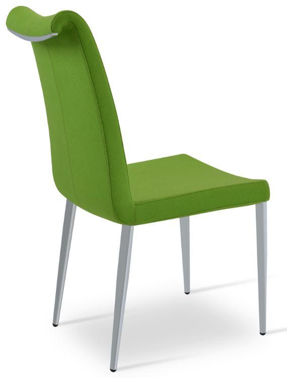 tulip_chair_chromekk _camira_wool _pistachio