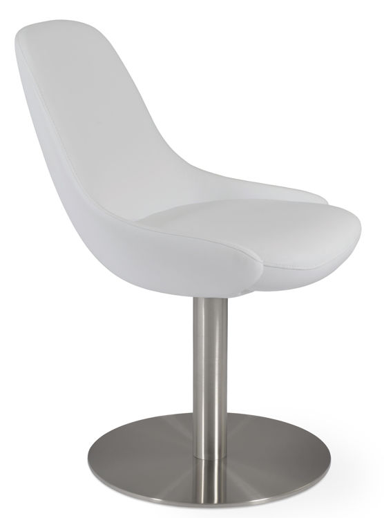 gazel_roundddd_swivel_ss _brushed _eco_leather_fsoft_ _white_5_