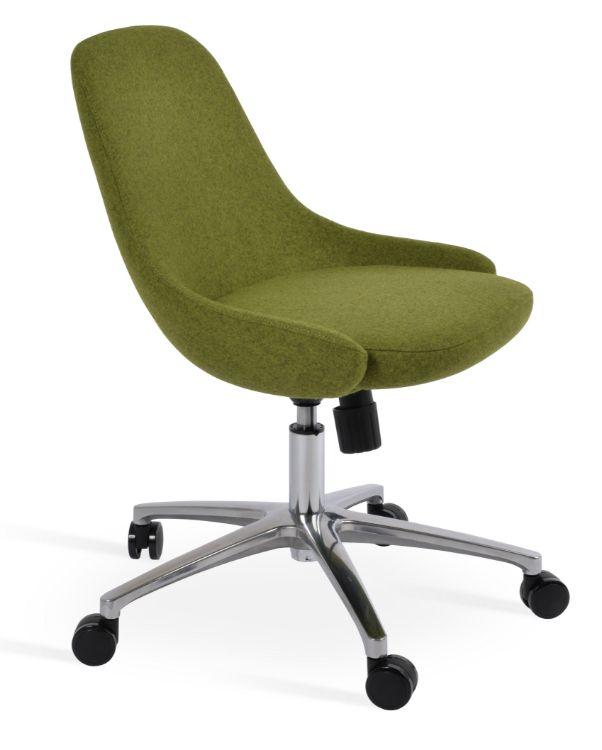 gazel_office_caddmira_wool forest_green