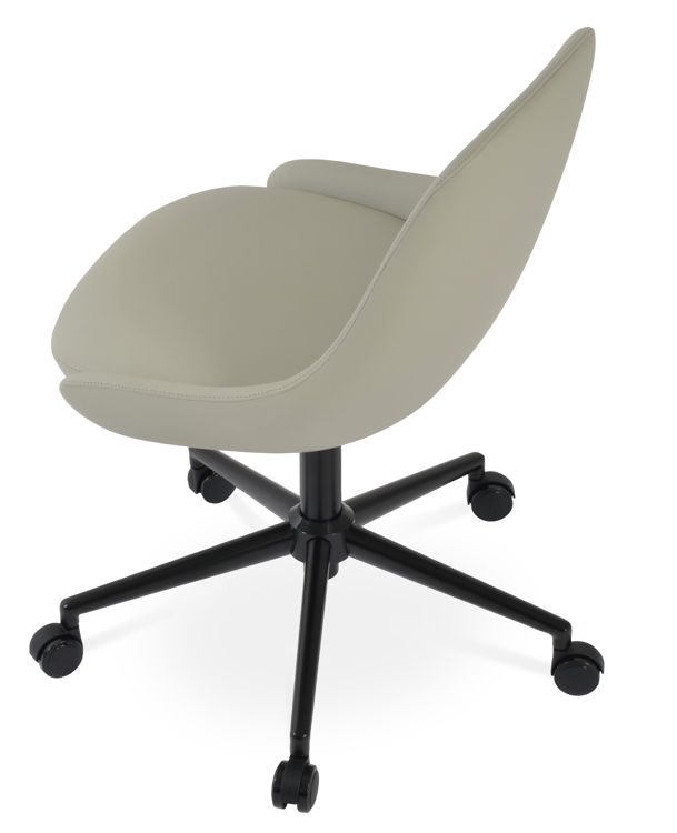 gazel_office dddblack _leatherette light_grey 050 _8_