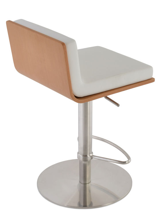 corona_pddston _ssround plywood_natural with_dallas_seat_ eco_leather white