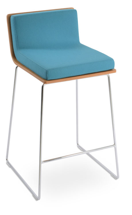 corona_wire_hansdle_back_with_dallas_natural_plywood camira_wool_turquoise_