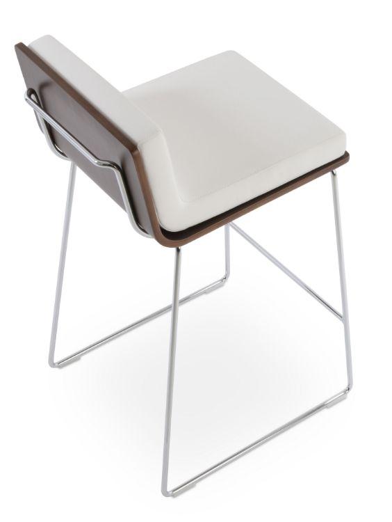 corona_wssire_handle_back_with_dallas_walnut_plywood _eco_leather_white _
