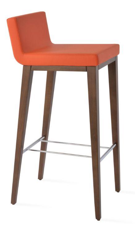 dallas_bar_wddood_walnut_eco_leather orange_