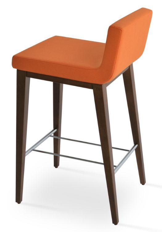 dallas_counddter_wood_walnut_ _camira_era_fabric _orange_