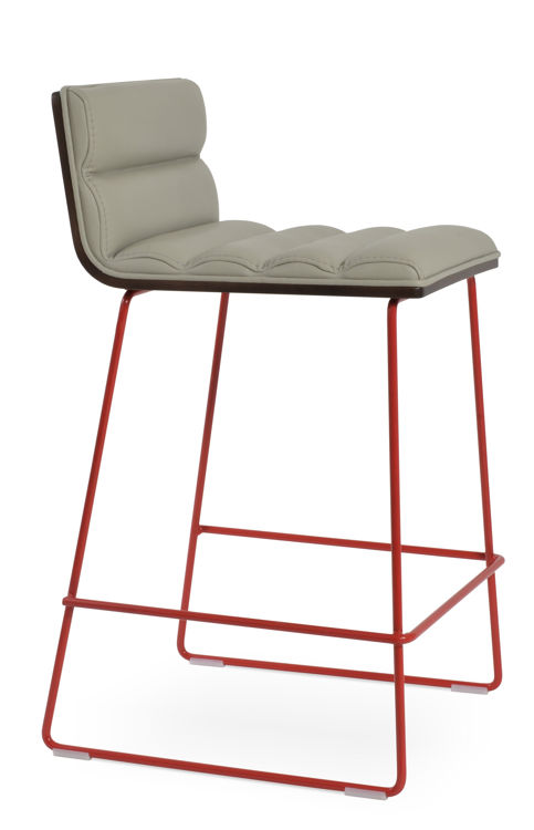 corona_comfort_wire_counteddr_hb_ _leatherette_fsoft_ _light_grey_wire_red_color_paint_3_