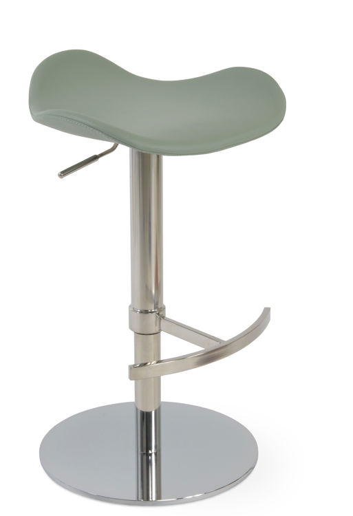 falcon_bar_t _ddfootrest_piston_polished_s_steel_round_base_ppm s_mint