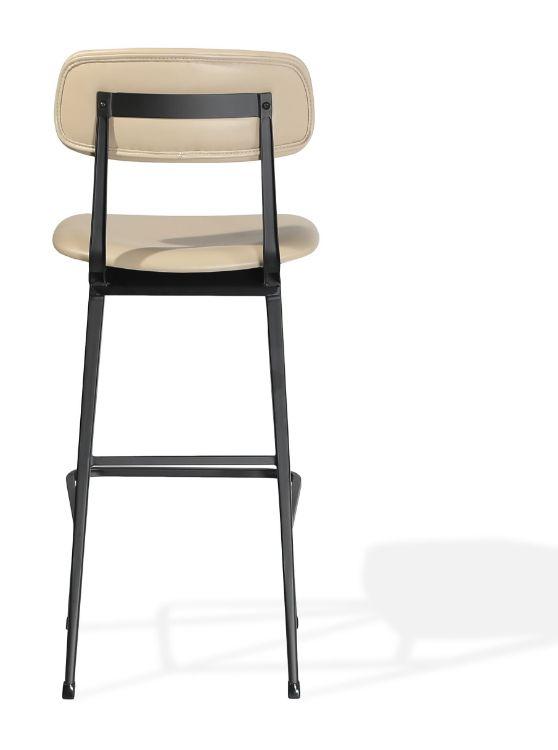 pedrali_soft_seat_bar_ _ppm s_wheat_502 06_seat_back_ _matt_black_frame 2