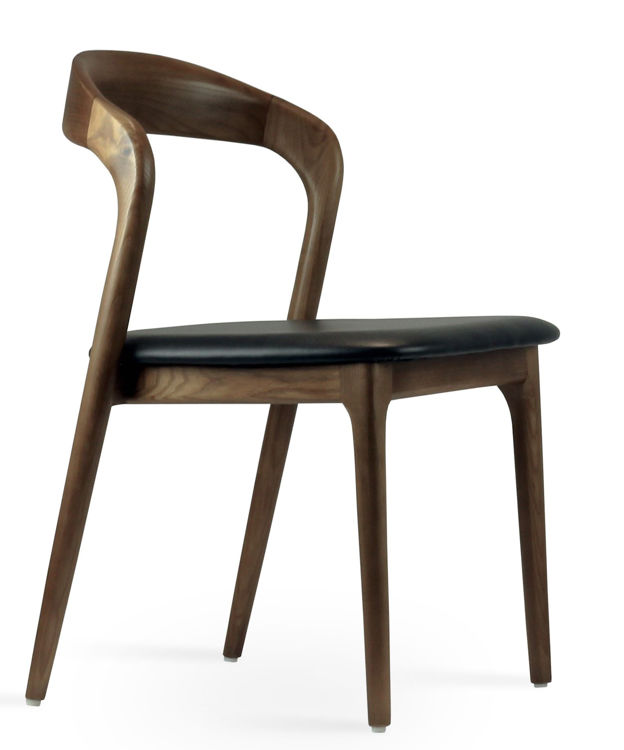 infinity_dining_chair _solid_ash_wood _walnut_finish_2_
