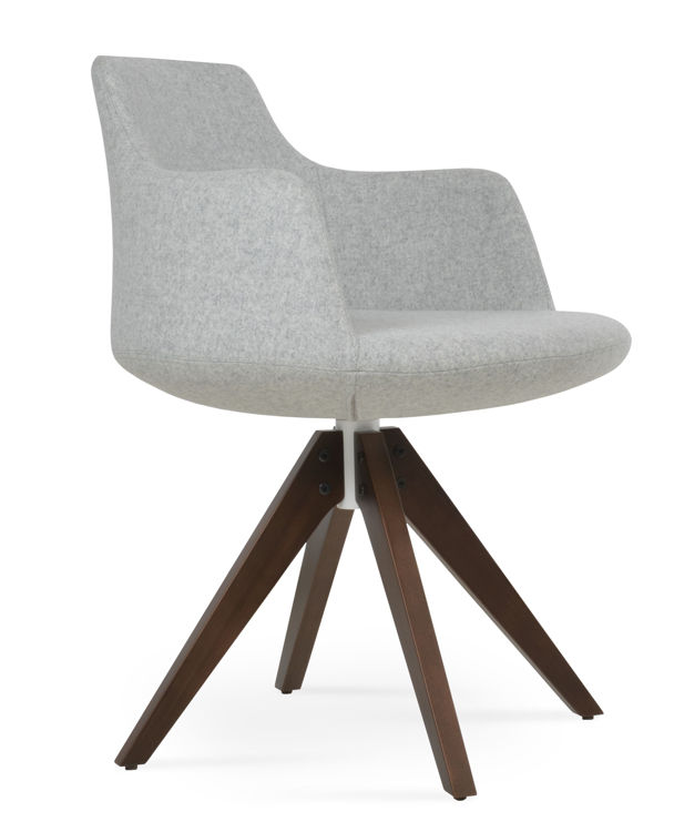 dervish_pyramddd_solid_beech_wood _walnut_finish swivel_camira_wool _silver_2_
