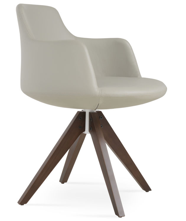 dervish_pyramid_sddolid_beech_wood _walnut_finish swivel_leatherette _light_grey_ 0150 _fsoft_1_