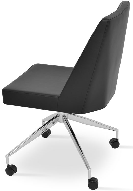 prisma_chair spiddder_base_with_caster _office_ black_f_1_