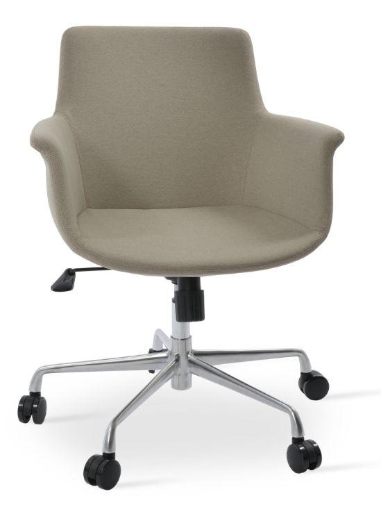 bottega_dddddd_chair_base_full_tilt_aluminium_26_66cm_a3 ems_ _camira_era_beige _cse02_ _