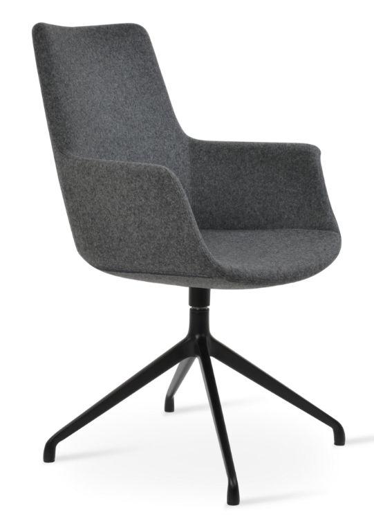 bottega_ddarm_high_back_chair_spider_base_camira_blazer_wool_ _dark_grey_silcoates_ _cuz30_16_