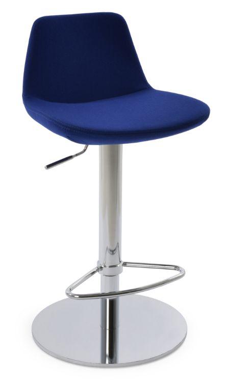 pera_piston_half_footrest_polished_s_steel_round_base_camira_royal_blue_jpg