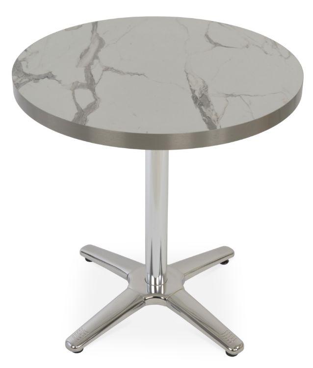 lamer_commerciaddl_table_base_ _h_283_aliminium_tube_dia_23_s_steel_polished_base_dia_24_hpl_ _mdf_laminate_round_ _aluminum_sstl_finish_edge_white_marble_finished_3556mm 14_thickness_27_69cm_jpg