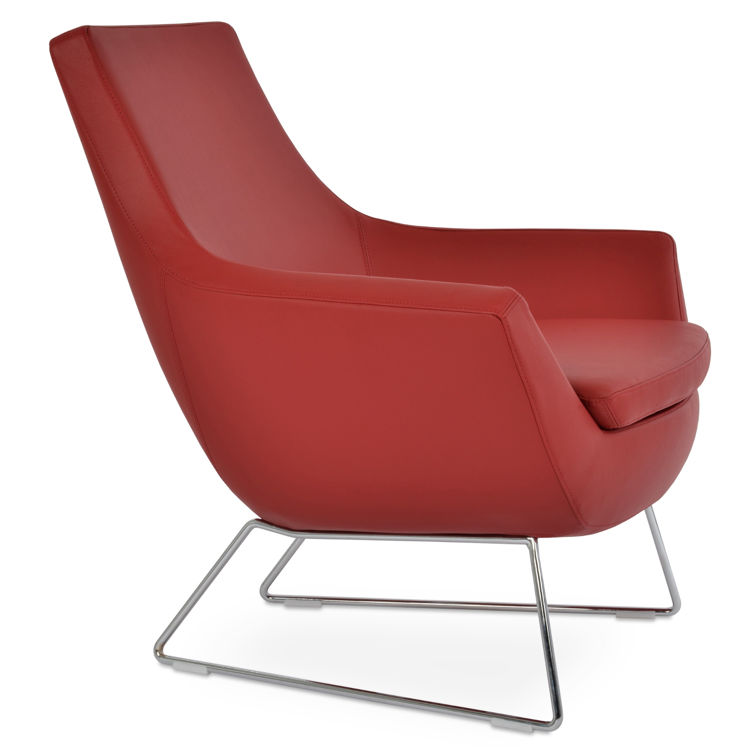 rebecca_arm_chair_chrome_wire_sled_base _eco_leather_fsoft_ _red_260_jpg